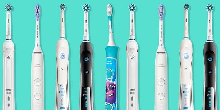 types of power toothbrushes